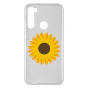 Xiaomi Redmi Note 8 Case Sunflower