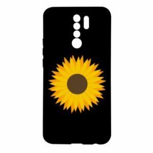 Etui na Xiaomi Redmi 9 Sunflower
