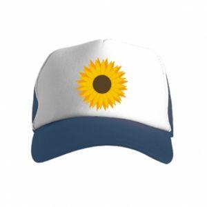 Czapka trucker dziecięca Sunflower