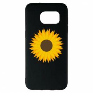 Etui na Samsung S7 EDGE Sunflower