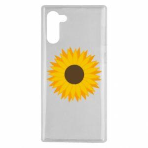 Etui na Samsung Note 10 Sunflower