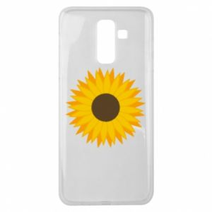 Etui na Samsung J8 2018 Sunflower