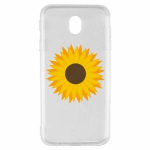 Etui na Samsung J7 2017 Sunflower