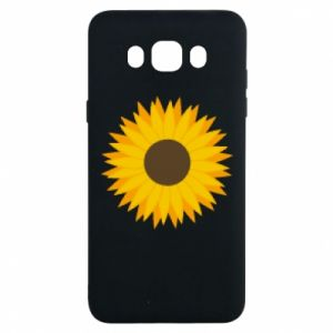 Etui na Samsung J7 2016 Sunflower