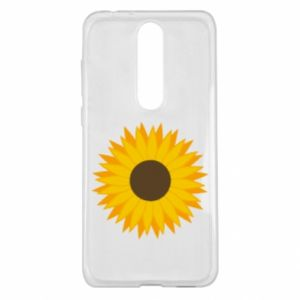 Etui na Nokia 5.1 Plus Sunflower