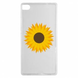 Etui na Huawei P8 Sunflower