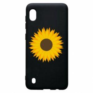 Etui na Samsung A10 Sunflower