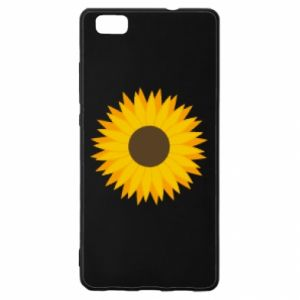 Etui na Huawei P 8 Lite Sunflower