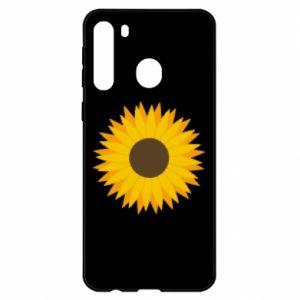 Etui na Samsung A21 Sunflower