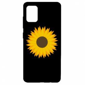 Etui na Samsung A51 Sunflower