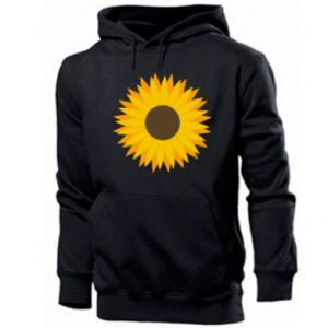 Męska bluza z kapturem Sunflower