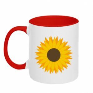 Kubek dwukolorowy Sunflower