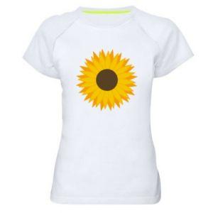 Koszulka sportowa damska Sunflower