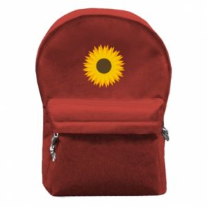 Backpack with front pocket Sunflower