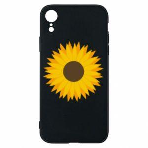 Etui na iPhone XR Sunflower