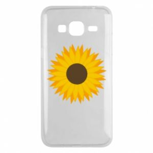 Etui na Samsung J3 2016 Sunflower