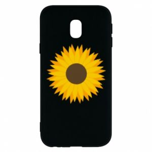Etui na Samsung J3 2017 Sunflower