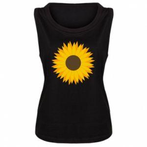 Koszulka bez rękawów damska Sunflower