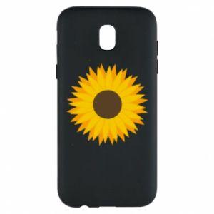Etui na Samsung J5 2017 Sunflower