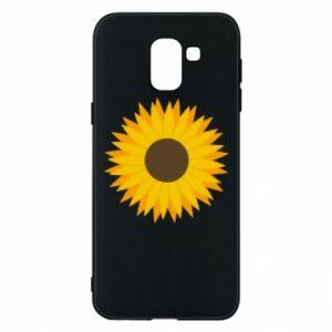 Etui na Samsung J6 Sunflower