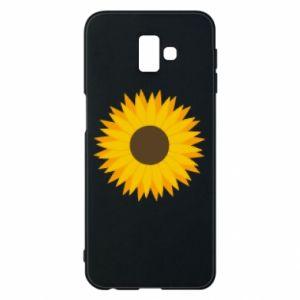 Etui na Samsung J6 Plus 2018 Sunflower