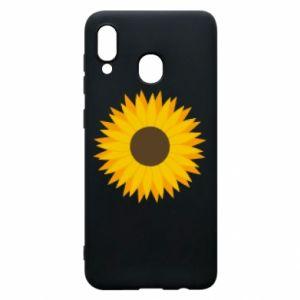 Etui na Samsung A20 Sunflower
