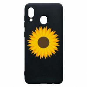 Etui na Samsung A30 Sunflower