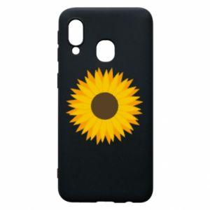 Etui na Samsung A40 Sunflower