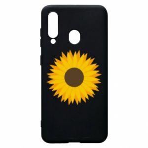 Etui na Samsung A60 Sunflower