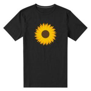 Męska premium koszulka Sunflower