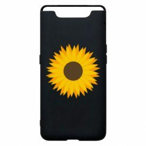 Etui na Samsung A80 Sunflower