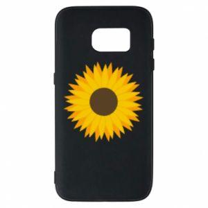 Etui na Samsung S7 Sunflower