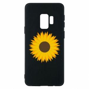 Etui na Samsung S9 Sunflower