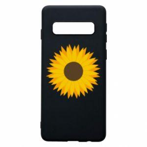 Etui na Samsung S10 Sunflower