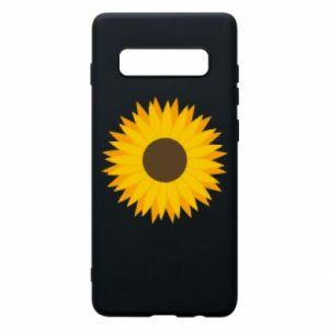 Etui na Samsung S10+ Sunflower