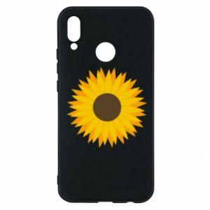 Etui na Huawei P20 Lite Sunflower