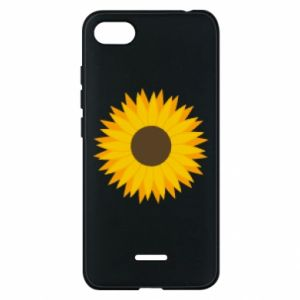 Etui na Xiaomi Redmi 6A Sunflower