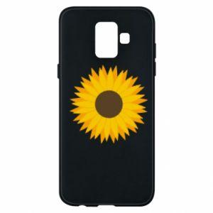 Etui na Samsung A6 2018 Sunflower