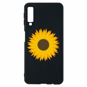 Etui na Samsung A7 2018 Sunflower