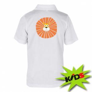 Koszulka polo dziecięca Sunny lion