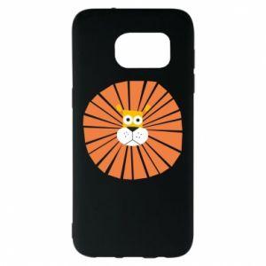 Etui na Samsung S7 EDGE Sunny lion