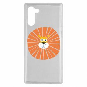 Etui na Samsung Note 10 Sunny lion