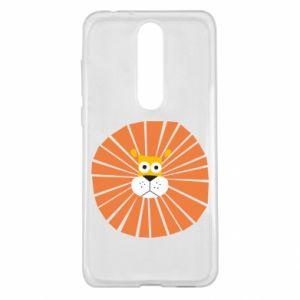 Etui na Nokia 5.1 Plus Sunny lion