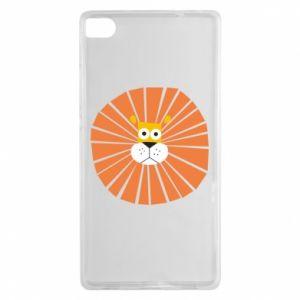 Etui na Huawei P8 Sunny lion