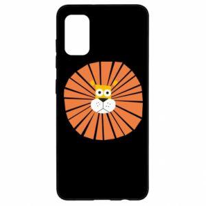 Etui na Samsung A41 Sunny lion