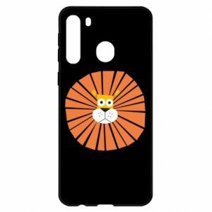 Etui na Samsung A21 Sunny lion