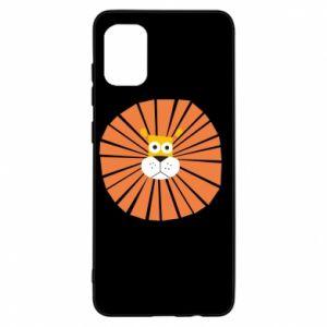 Etui na Samsung A31 Sunny lion