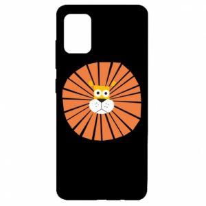 Etui na Samsung A51 Sunny lion