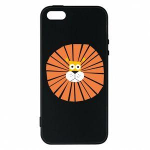 Etui na iPhone 5/5S/SE Sunny lion