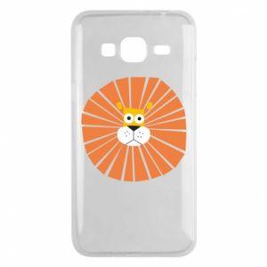 Etui na Samsung J3 2016 Sunny lion